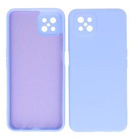 2.0mm Thick Fashion Color TPU Case Oppo Reno 4 Z - A92s Purple