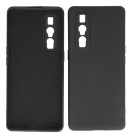 2.0mm Thick Fashion Color TPU Case Oppo Find X2 Pro Black