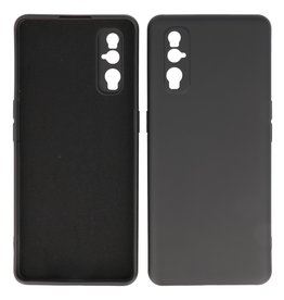 2.0mm Thick Fashion Color TPU Case Oppo Find X2 Black