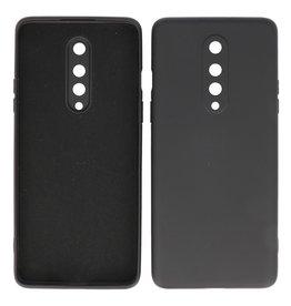 2.0mm Dikke Fashion Color TPU Hoesje OnePlus 8 Zwart