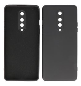 2.0mm Thick Fashion Color TPU Case OnePlus 8 Black