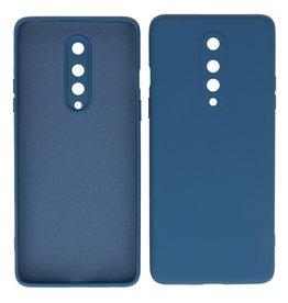 2.0mm Dikke Fashion Color TPU Hoesje OnePlus 8 Navy