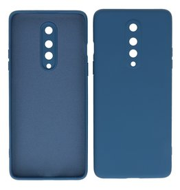 2.0mm Thick Fashion Color TPU Case OnePlus 8 Navy