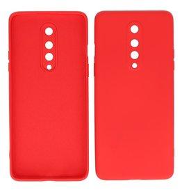 2.0mm Dikke Fashion Color TPU Hoesje OnePlus 8 Rood