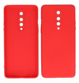 2.0mm Thick Fashion Color TPU Case OnePlus 8 Red