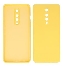 2.0mm Thick Fashion Color TPU Case OnePlus 8 Yellow