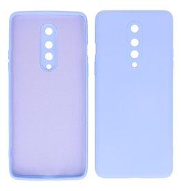 2.0mm Dikke Fashion Color TPU Hoesje OnePlus 8 Paars