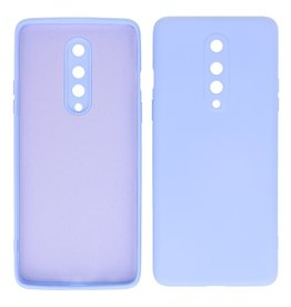 2.0mm Thick Fashion Color TPU Case OnePlus 8 Purple