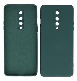 2.0mm Dikke Fashion Color TPU Hoesje OnePlus 8 Donker Groen
