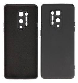 2.0mm Thick Fashion Color TPU Case OnePlus 8 Pro Black