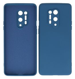 2.0mm Thick Fashion Color TPU Case OnePlus 8 Pro Navy