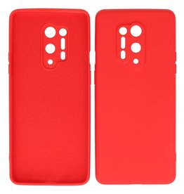 2.0mm Thick Fashion Color TPU Case OnePlus 8 Pro Red