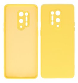 2.0mm Thick Fashion Color TPU Case OnePlus 8 Pro Yellow