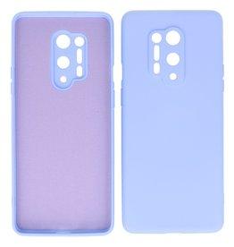2.0mm Thick Fashion Color TPU Case OnePlus 8 Pro Purple