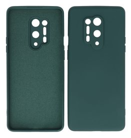 2.0mm Thick Fashion Color TPU Case OnePlus 8 Pro Dark Green