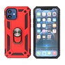 Armor Case with Ring Holder iPhone 12 Mini Red