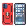 Rüstungsetui mit Ringhalter iPhone 12 Mini Red