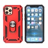 Armor Case with Ring Holder iPhone 12 - 12 Pro Red
