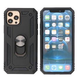 Armor Case with Ring Holder iPhone 12 Pro Max Black