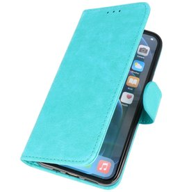 Bookstyle Wallet Cases Hoes voor iPhone 12 Pro Max Groen