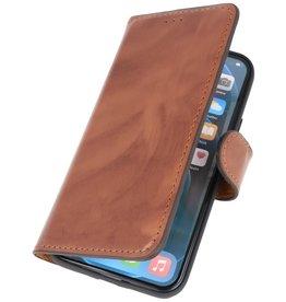 MF Scratch Free handgefertigte Ledertasche iPhone 12 Mini Brown