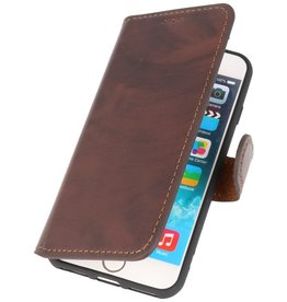 MF Scratch Free Handmade Leather Case iPhone 8/7 / SE2020 Mocca