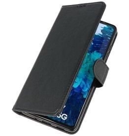 Bookstyle Wallet Cases Hoesje voor Samsung Galaxy S20 FE Zwart