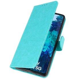 Bookstyle Wallet Cases Hoesje voor Samsung Galaxy S20 FE Groen