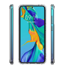Shockproof transparent TPU case for Samsung Galaxy A12