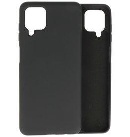 2.0mm Thick Fashion Color TPU Case Samsung Galaxy A12 Black