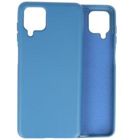 2.0mm Thick Fashion Color TPU Case Samsung Galaxy A12 Navy