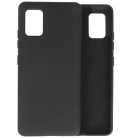 2.0mm Thick Fashion Color TPU Case Samsung Galaxy A51 5G Black