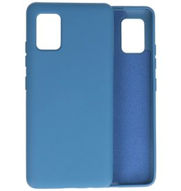 2.0mm Thick Fashion Color TPU Case Samsung Galaxy A51 5G Navy