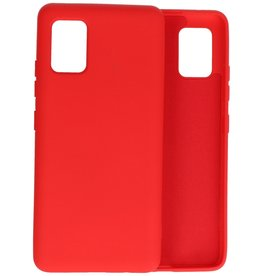 2.0mm Thick Fashion Color TPU Case Samsung Galaxy A51 5G Red