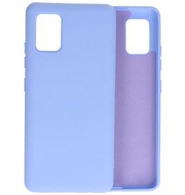 2.0mm Thick Fashion Color TPU Case Samsung Galaxy A51 5G Purple