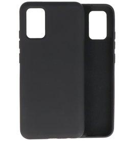 2.0mm Thick Fashion Color TPU Case Samsung Galaxy A02s Black