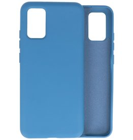 2.0mm Thick Fashion Color TPU Case Samsung Galaxy A02s Navy