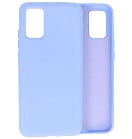 2.0mm Thick Fashion Color TPU Case Samsung Galaxy A02s Purple