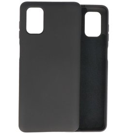 2.0mm Thick Fashion Color TPU Case Samsung Galaxy M51 Black