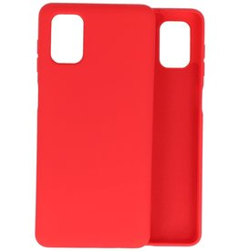 2.0mm Thick Fashion Color TPU Case Samsung Galaxy M51 Red