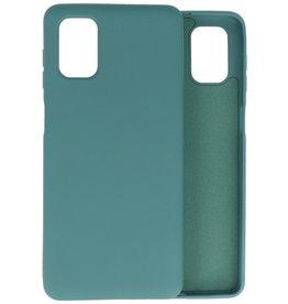 2.0mm Thick Fashion Color TPU Case Samsung Galaxy M51 Dark Green