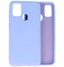 2.0mm Dikke Fashion Color TPU Hoesje Samsung Galaxy M21 / M21s Paars