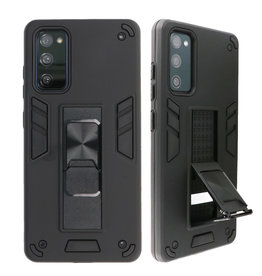 Stand Hardcase Backcover for Samsung Galaxy S20 FE Black