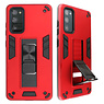Stand Hardcase Backcover for Samsung Galaxy S20 FE Red