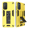 Stand Hardcase Backcover for Samsung Galaxy S20 FE Yellow