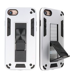 Stand Hardcase Backcover for iPhone SE 2020/8/7 Silver