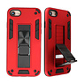 Stand Hardcase Backcover for iPhone SE 2020/8/7 Red