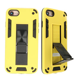 Stand Hardcase Backcover for iPhone SE 2020/8/7 Yellow