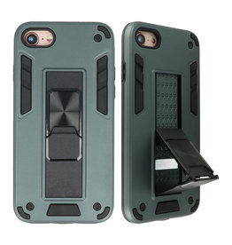 Stand Hardcase Backcover for iPhone SE 2020/8/7 Dark Green