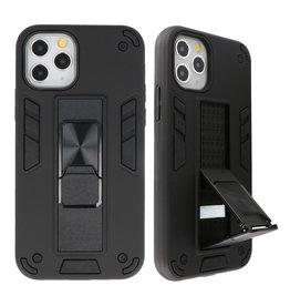 Stand Hardcase Backcover voor iPhone 11 Pro Zwart